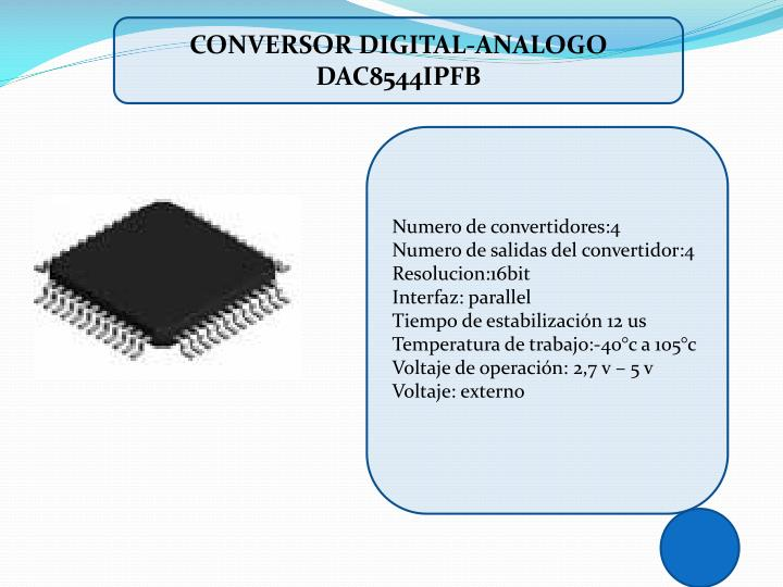 Conversor digital-