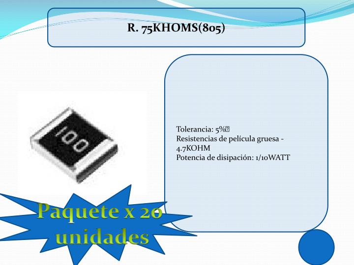 R. 75KHOMS(805)