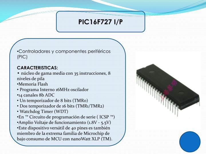 PIC16F727 I/P