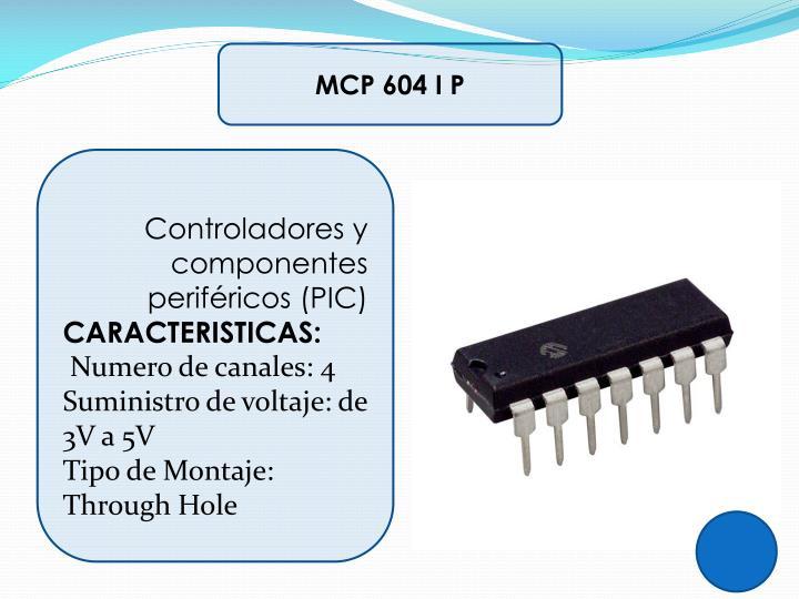 MCP 604 I P