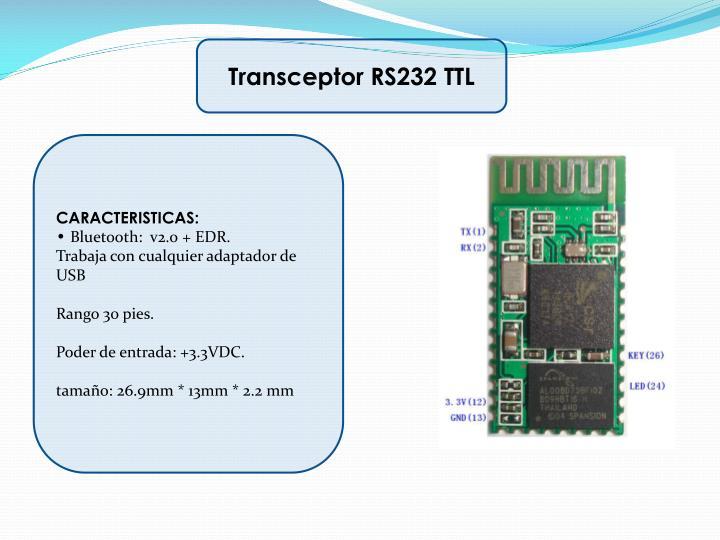 Transceptor RS232 TTL