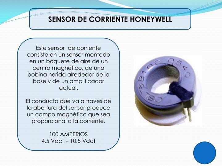 SENSOR DE CORRIENTE HONEYWELL