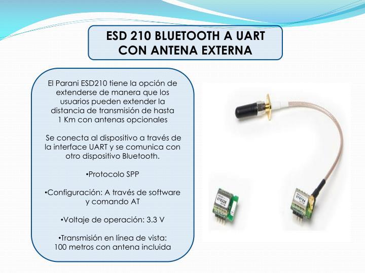 ESD 210 BLUETOOTH A UART