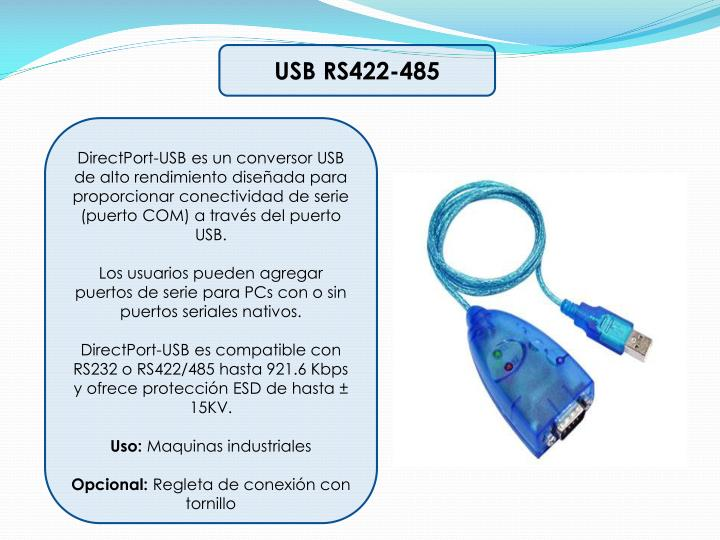 USB RS422-485