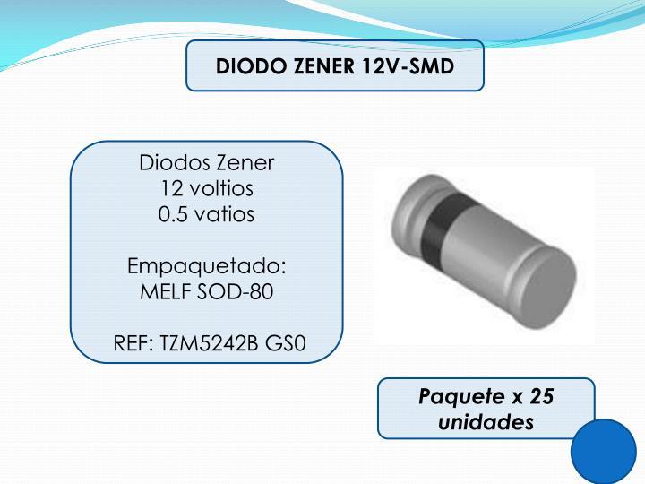 DIODO ZENER 12V-SMD