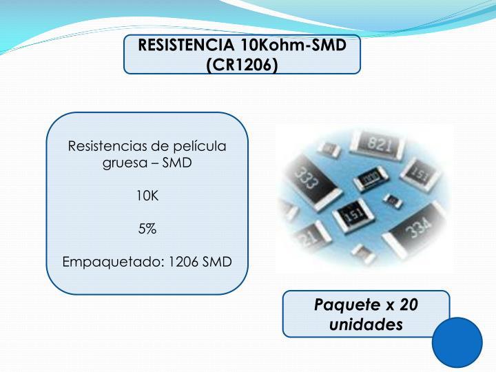RESISTENCIA 10Kohm-SMD