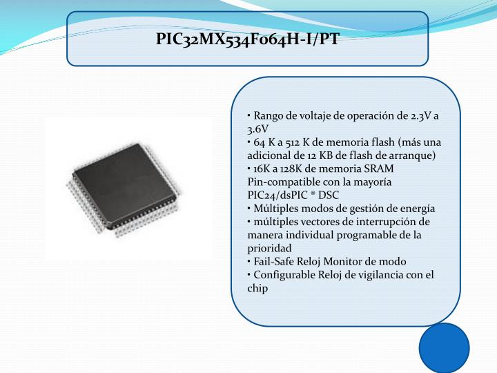 PIC32MX534F064H-I/PT