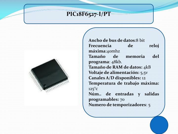 PIC18F6527-I/PT