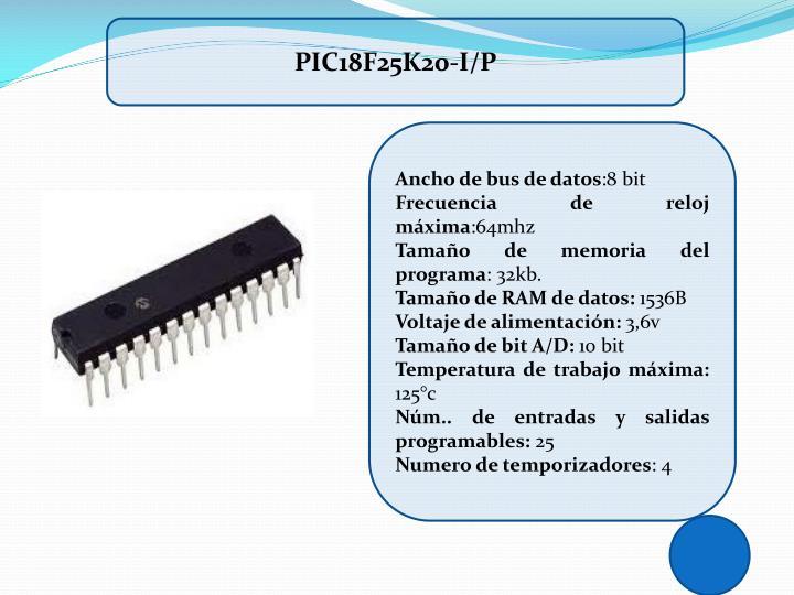 PIC18F25K20-I/P