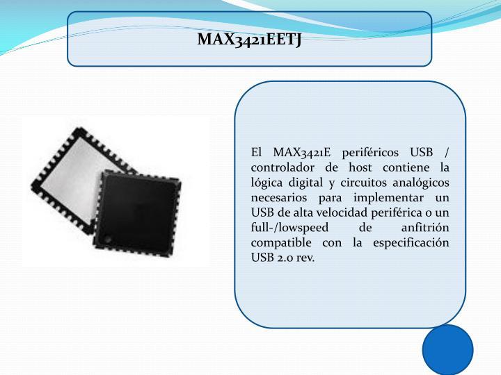 MAX3421EETJ