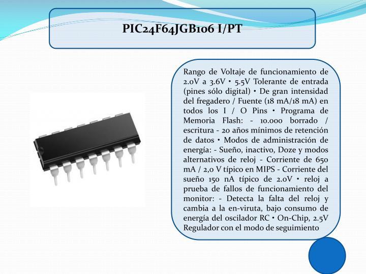 PIC24F64JGB106