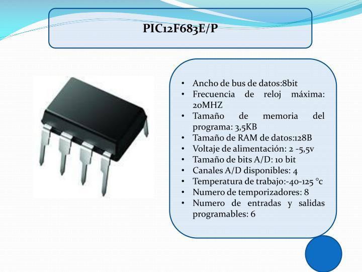 PIC12F683E/P