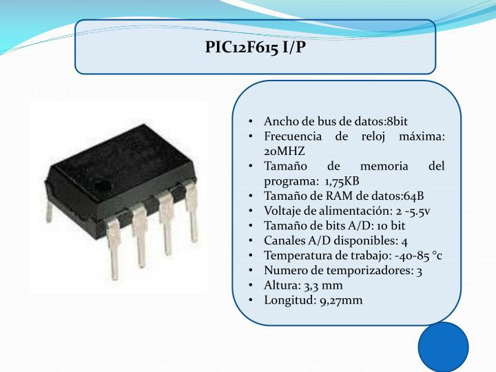 PIC12F615