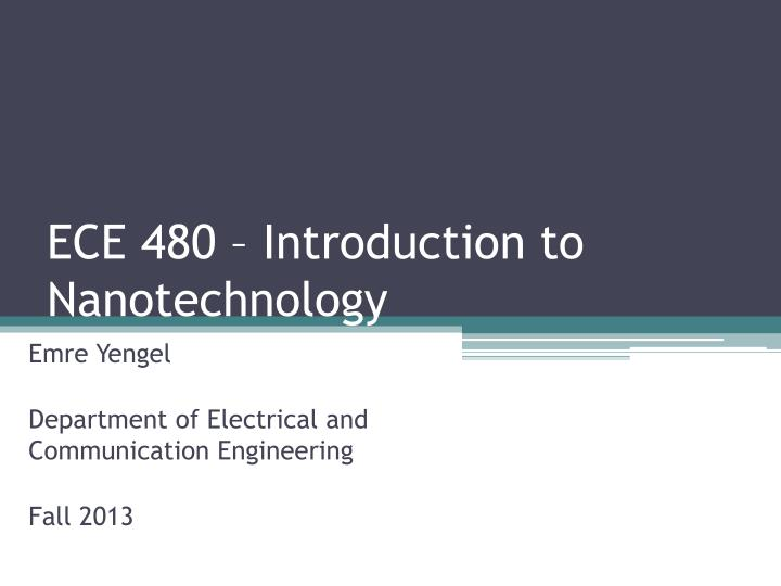 ece introduction Welcome to the ece 2504 introduction to computer engineering homepage spring 2008 professor dr joseph g tront 359 durham hall jgtront@vtedu (540) 231-5067.