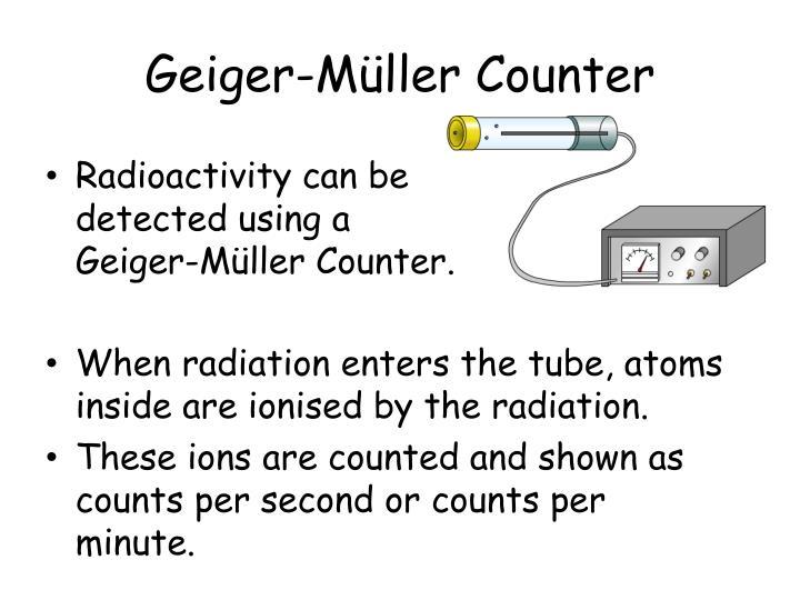 Geiger-Müller Counter