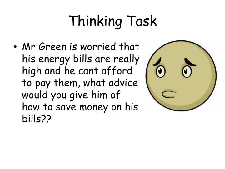 Thinking Task