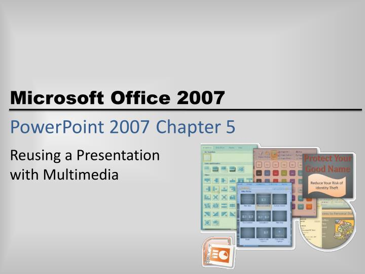 powerpoint 2007 chapter 5 n.
