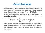 grand potential