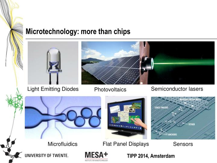 Microtechnology: more than chips