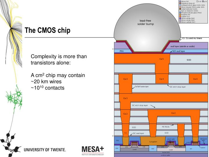 The CMOS chip