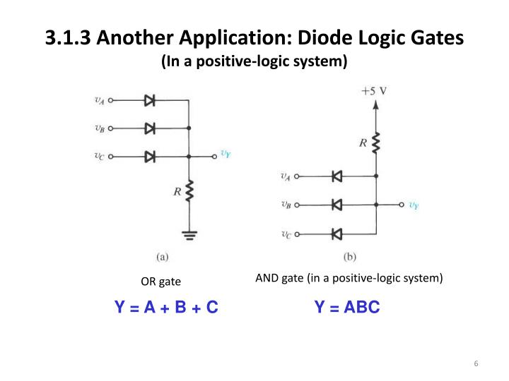 3.1.3 Another Application: Diode Logic
