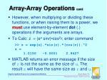 array array operations cont3