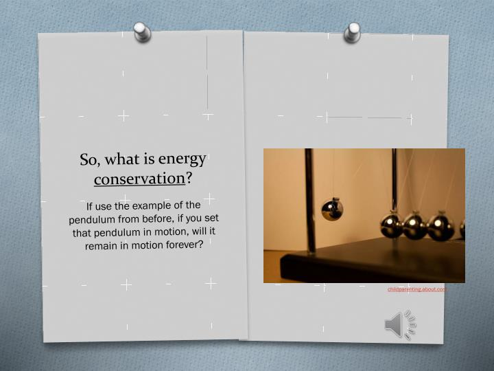 So, what is energy
