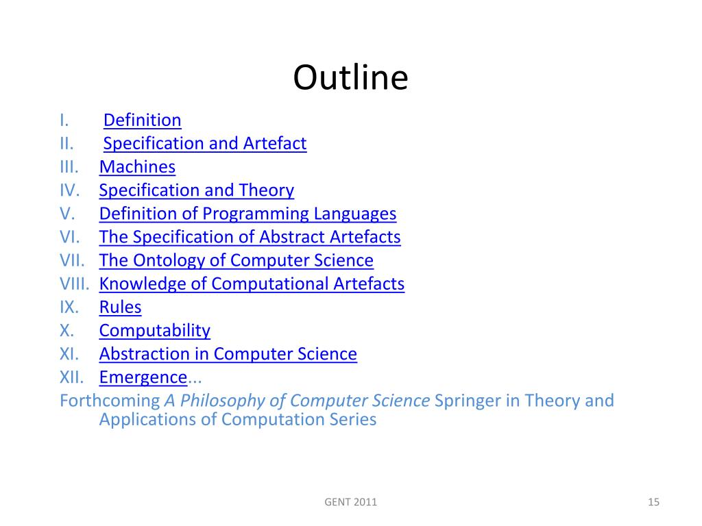 Ppt A Philosophy Of Computer Science Powerpoint
