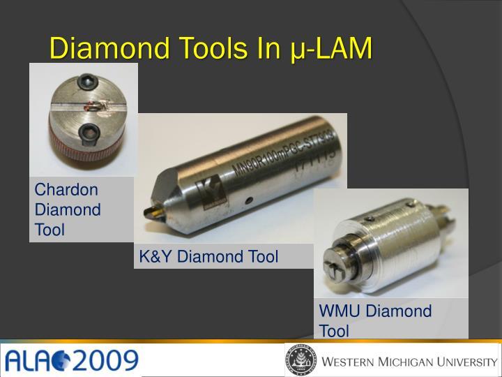 Diamond Tools In