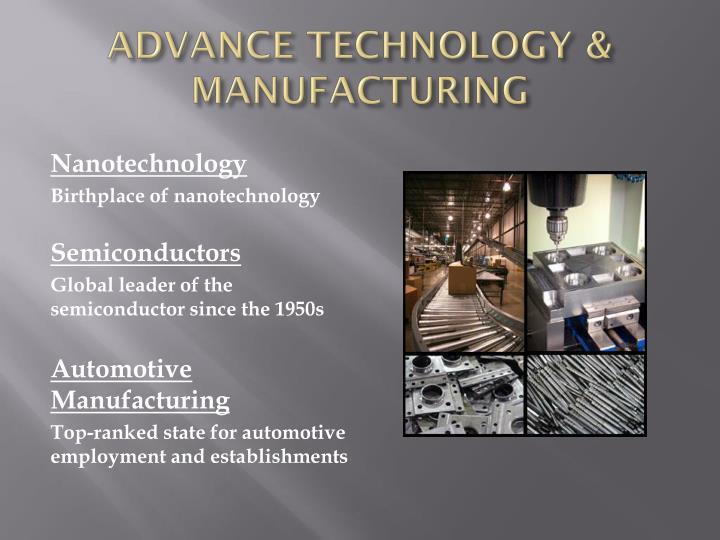 ADVANCE TECHNOLOGY & MANUFACTURING