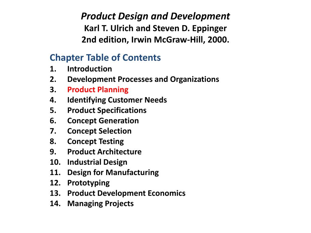 Ppt Product Design L2 Development Processes And Organizations Powerpoint Presentation Id 1588501