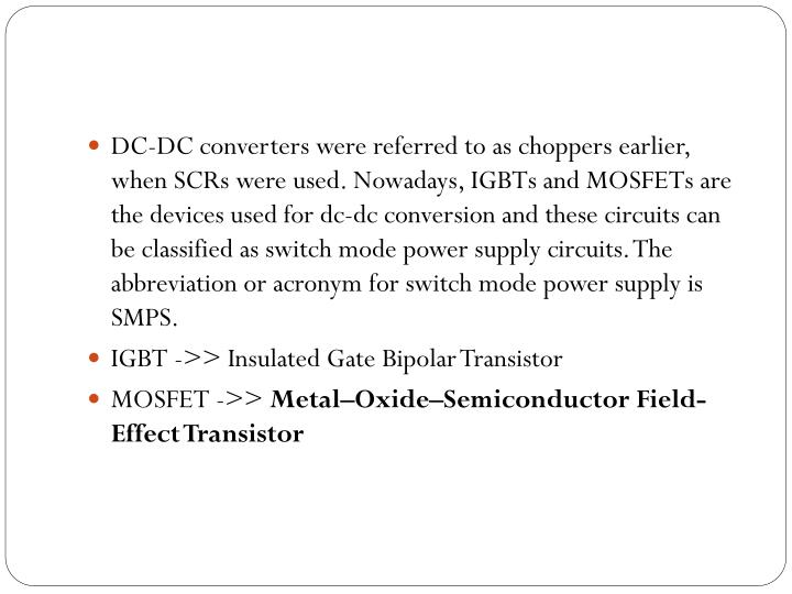 Ppt Switch Mode Power Supply Powerpoint Presentation Id 1588513