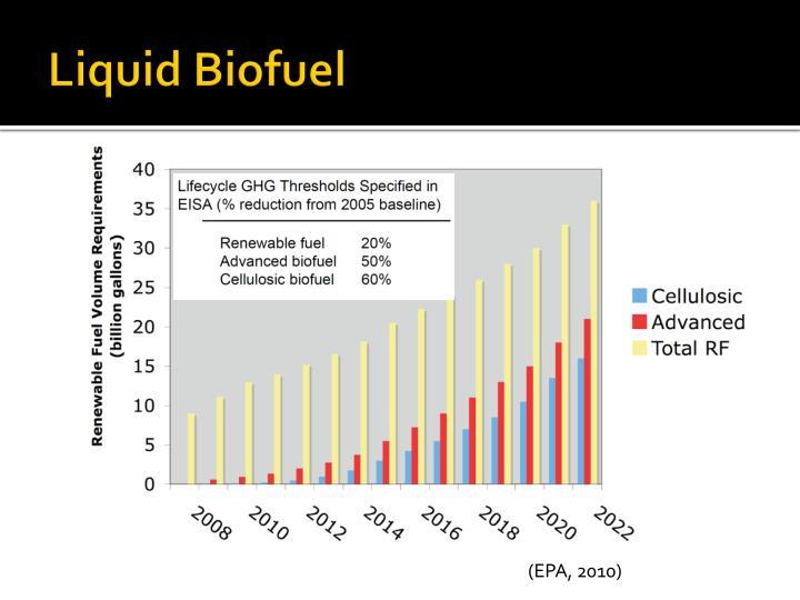 Liquid biofuel