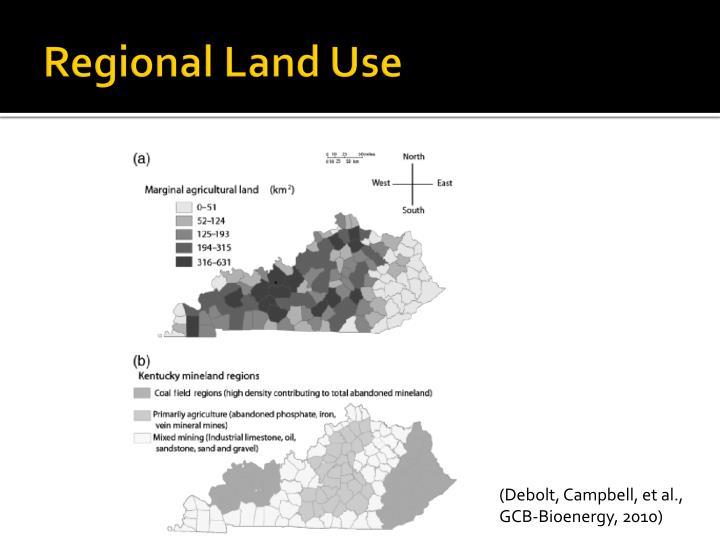 Regional Land Use