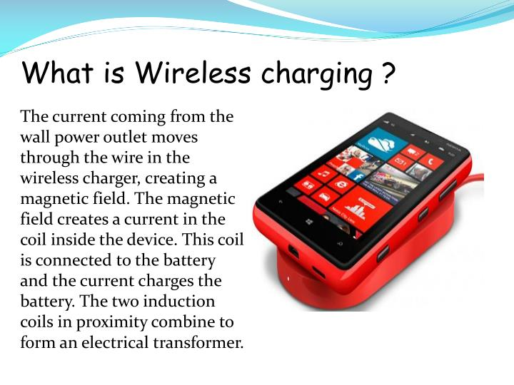 What is Wireless charging ?