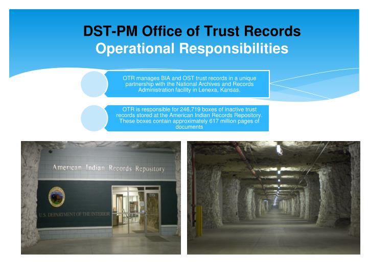 DST-PM Office of Trust Records