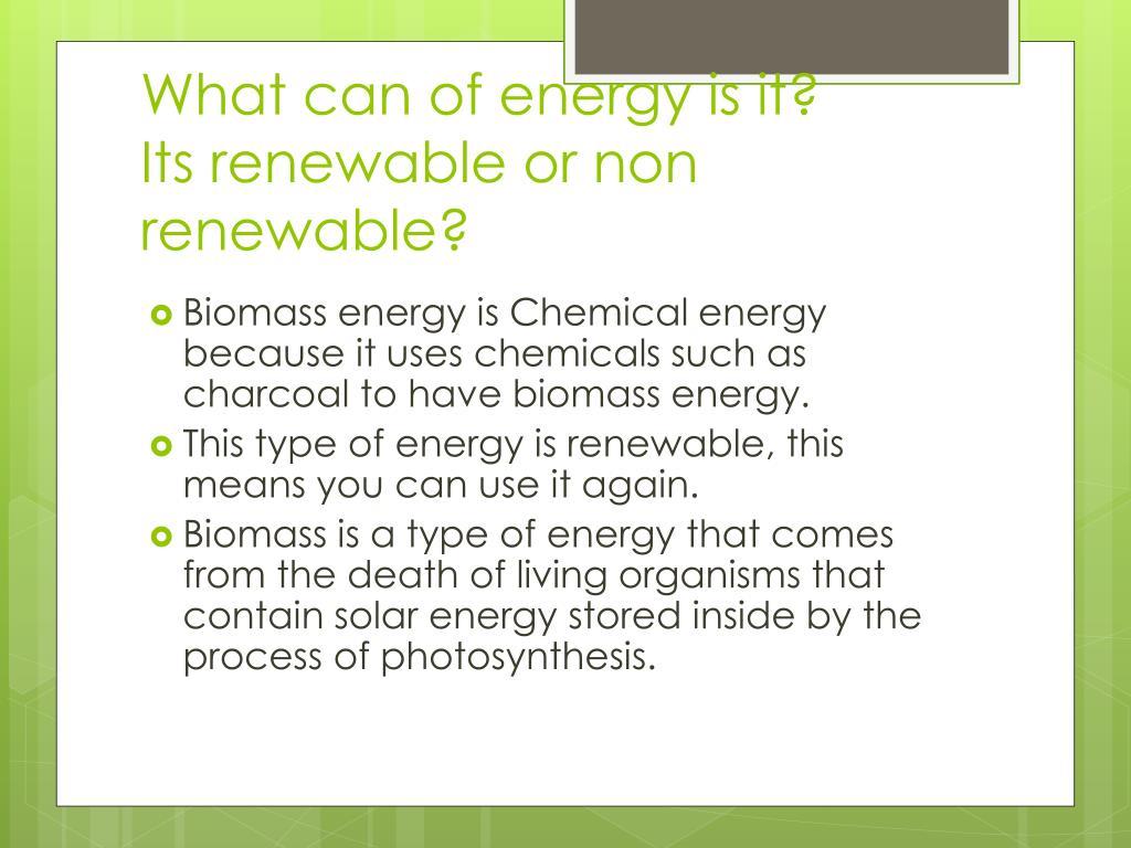 PPT - Biomass Energy! PowerPoint Presentation - ID:1588845