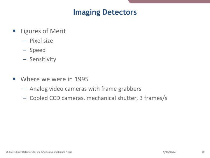 Imaging Detectors