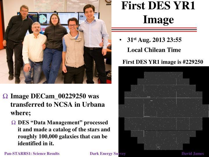 First DES