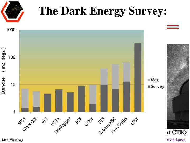 The Dark Energy Survey: