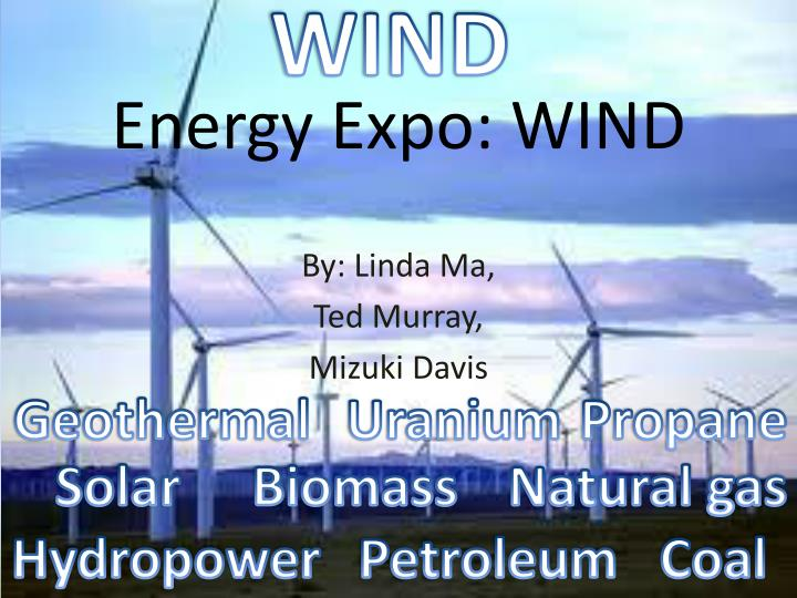 energy expo wind n.