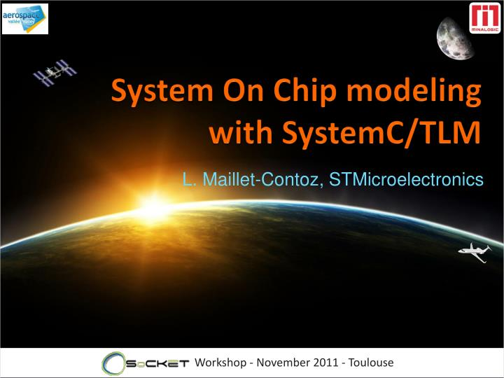 system on chip modeling with systemc tlm n.