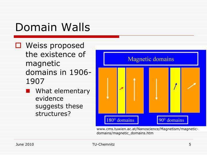 Domain Walls