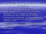 cultivating preparing m b s for your profession