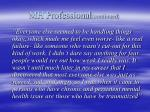 mh professional continued