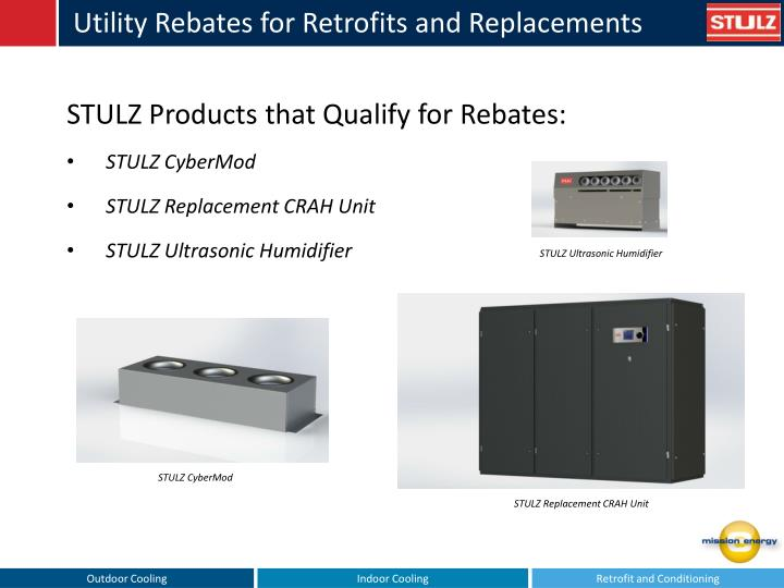 Utility Rebates for Retrofits and Replacements