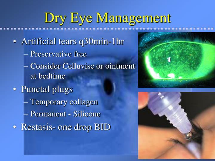 Dry Eye Management