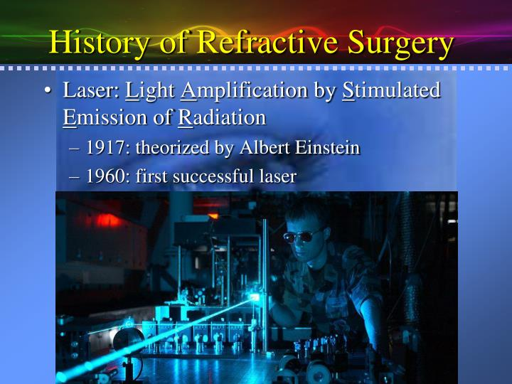 an analysis of the laser light amplification for stimulated emission of radiation