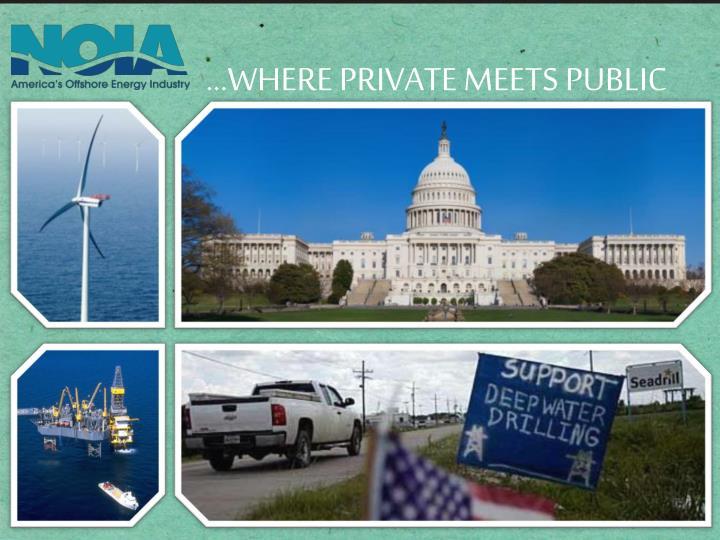Where private meets public