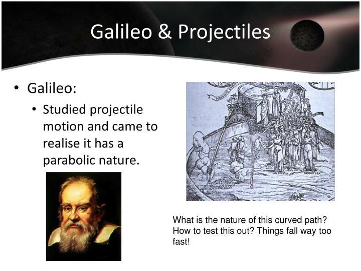 Galileo & Projectiles